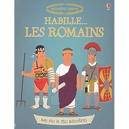 Habille... Les romains - Autocollants Usborne