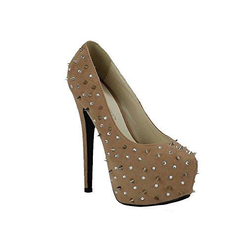 Günstige Schuhe Bestellenz-Frauen-Schuhe Diamante Sandalen Stud Partei Plattform-Stilett-Größe 3-8 (Größe 5 Schuhe Für Frauen Wedges)