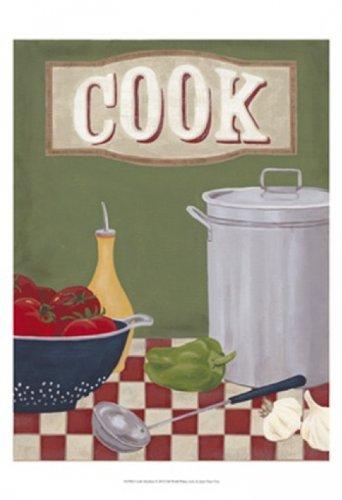 The Poster Corp June Erica Vess - Koch in der Küche Kunstdruck (33,02 x 48,26 cm)