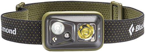 Black Diamond Spot Headlamp Burnt Olive / Dimmbare Stirnlampe mit fokussiertem Fernlicht und Nahbereich / Ideal zum Klettern und Skifahren, max. 300 Lumen