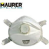MAURER Mascherina di protezione con valvola Classe FFP3 1 confezione da 5Pz Maurer