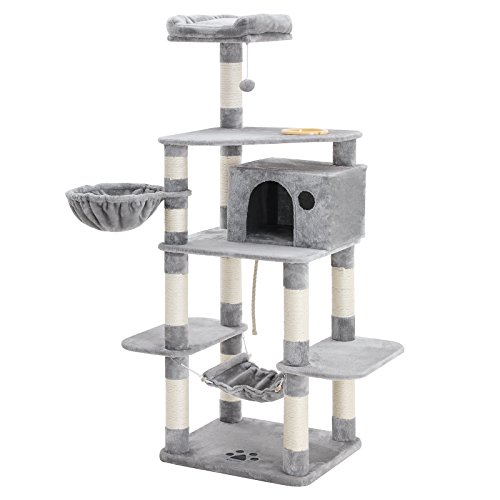 Photo de feandrea-arbre-a-chat-hauteur-de-164-cm-multi-niveaux