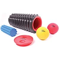 66fit Trigger Point Massage Roller Kit - Exercise Stretching Yoga Pilates Physio