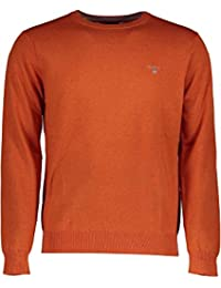 Gant Cotton Wool Crew, Pull Homme