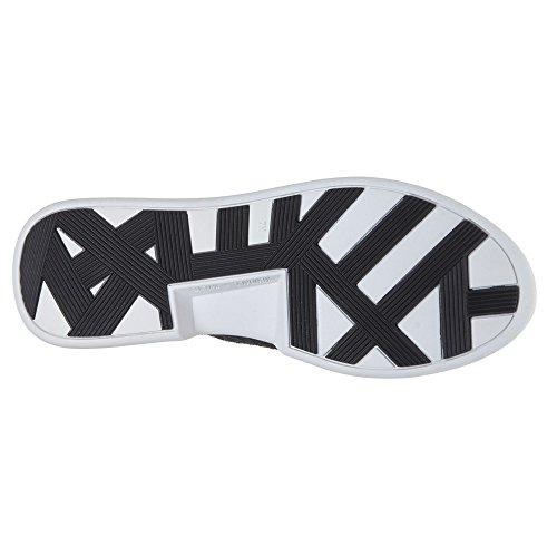 Kendall and Kylie Kkbrandy, chaussons d'intérieur femme Schwarz (Black/Black Knit Runner Sof)