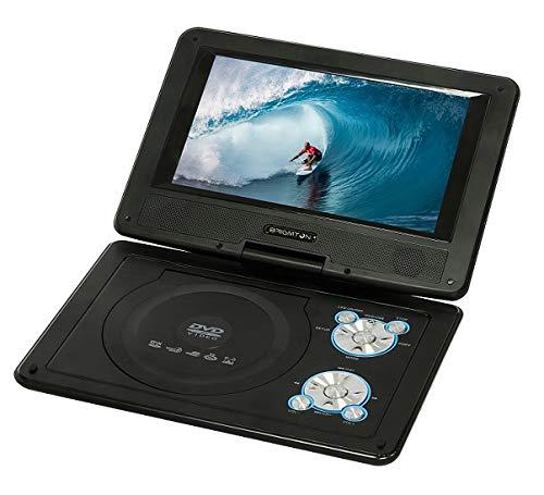 Brigmton BDVD-1093 Lecteur DVD portable Dessus de table Noir 22,9 cm (9\