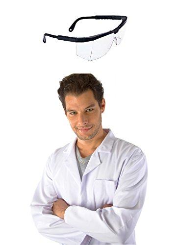 Labor Set - Dr. James Laborkittel & Kratzfeste Schutzbrille DE-09-XS