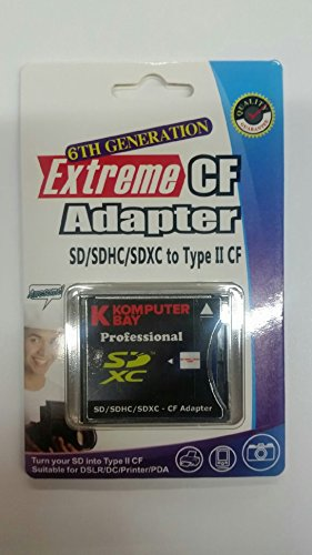 Komputerbay Adapter CF SDXC/SDHC/SD to CF Adaptor