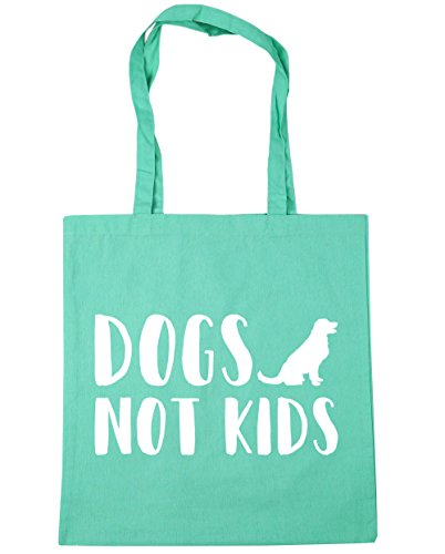 HippoWarehouse ,  Damen Strandtasche Gr. One Size, mint (Bag Spaniel English Springer Tote)