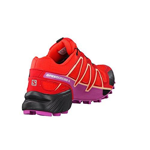 Salomon Speedcross 4 Gtx W, Scarpe da Trail Running Donna rot / violett