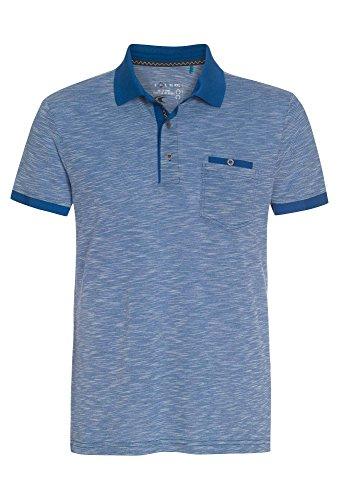 COOL CODE Herren Poloshirt in vielen Farben T-shirt,Polo,kurzarm,basic,Freizeit,einfarbig Blau