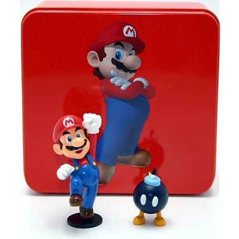 Nintendo - Figura de juguete Mario Bros (HIVE ENTERTAINMENT GMMBFT-01)