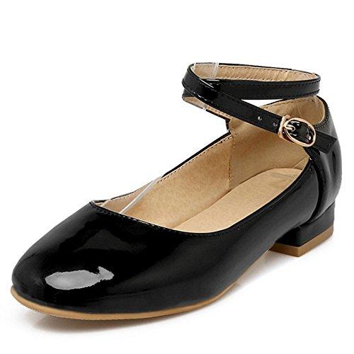 Zanpa Girls Basse Dress Scarpe 3#Black