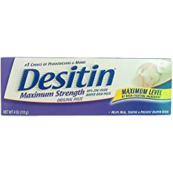 Desitin Maximum Strength Original Paste Diaper Rash Cream- 113G (4 Oz)