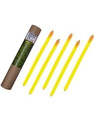 Cyalume Carton de 4 tubes de 5 Bâtons Lumineux Snaplight IMPACT 40 cm Orange-HI 5 Minutes 2 Anneaux 15'' Non-Emballés Individuellement (Paquet de 20)