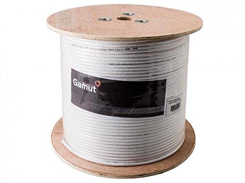 100m, 305m Outdoor CAT5e Ethernet Netzwerk Kabel Rollen für PTZ und IP-Kameras - Outdoor-cat5e-kabel