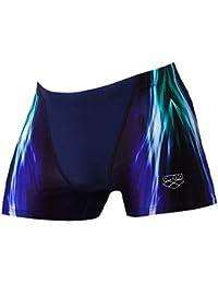 Arena M Shining - Bañador Corto para Hombre, Hombre, 001298, Azul Oscuro,