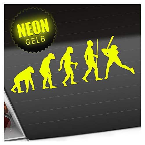 Kiwistar Baseball Game Evolution Aufkleber Sticker 25 Farben Neon Matt