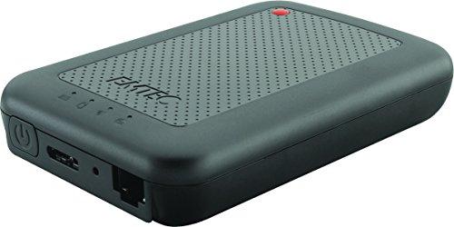 Emtec Disque dur connecté Wi-Fi USB3.0 (3.1) HDD 2.5 pouces P700 1TB Connect Ideal ppur streamer sur SmartPhone et Tablette Hot Spot