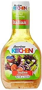 American Kitchen Salad Dressing, Italian, 237ml