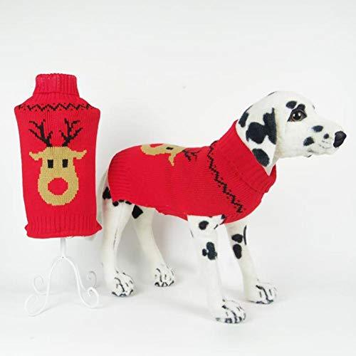 Invierno Suéter perros Chaleco Jumpers navideños