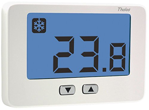 TERMOSTATO DIGITAL THALOS KEY DE PARED - VEMER VE718300