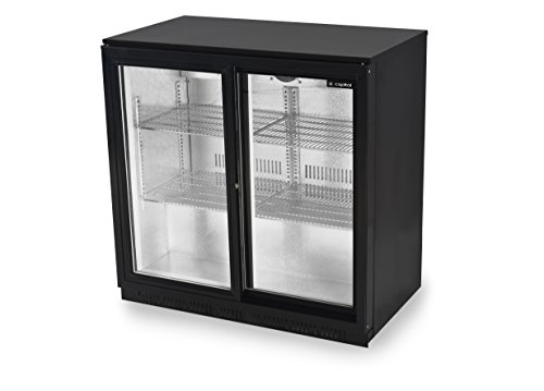 Capital Primo 2 SD | Sliding Double Door Back Bar Beer Fridge