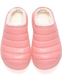 Pantofole da Invernali per Donna e Uomo Ciabatte da Home Caldo Peluche  Scarpe Comode Cotone Casa 46c6be303ab