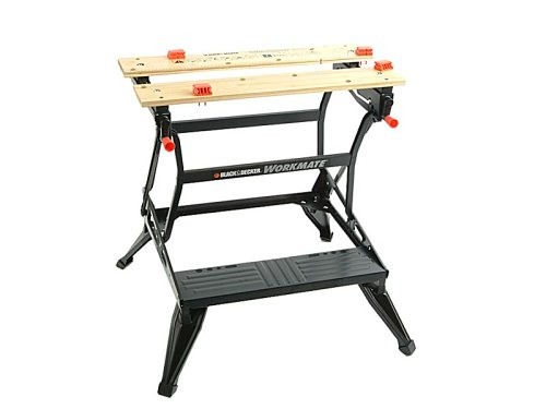 The Black+Decker WM626 is well designed for easy set-up and clean-up. It can hold virtually anything to be worked on and can be used as a bench tool stand, a vice, for painting and cutting, and as well as sawhorse or a general purpose workbench. This happens due to its dual working heights.