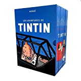 Les Aventures de Tintin, Intégrale : Coffret en 8 volumes...