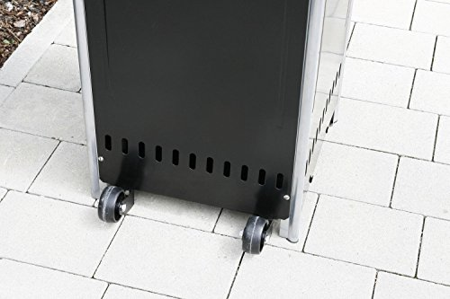 empasa Gasheizer Heizpilz 'Optical Pro' SCHWARZ MATT Heizstrahler Terrassenheizer; - 6