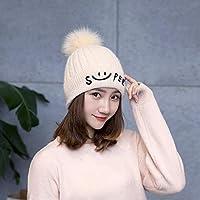 QWhing Cappello Sportivo Autunno e Inverno Moda Donna Cappello di Lana  Protezione dell orecchio Caldo 12d63715c86c