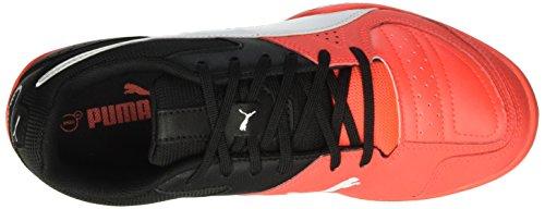 Puma Gavetto Sala Unisex-Erwachsene Fußballschuhe Rot (Red blast-puma white-puma Black 11)