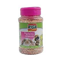 Riga - Deodorante al Profumo di Mela, flacone da 230 g, 2 Pezzi