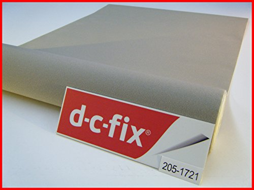 D C Fix selbstklebend grau Filz Velours 45 cm x 1 Meter Rolle Sticky Back Samt Vinyl 200-1721