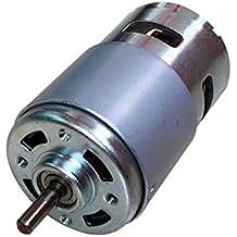 WOVELOT Motor 795 DC Motor Universal DC12V-24V Alto Voltaje Torque Grande Eje Redondo de