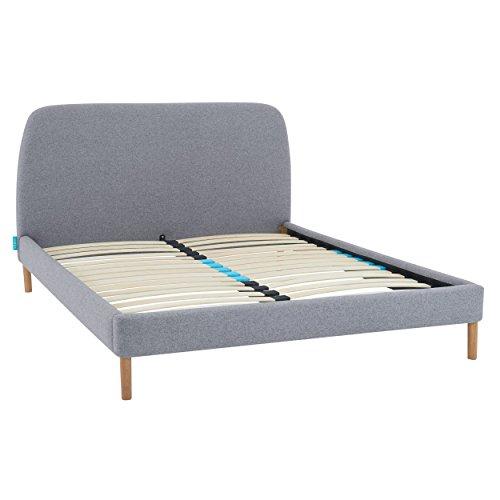 Simba Lit Simple L - avec sommier et tête de lit - pour Matelas 90 x 200 cm