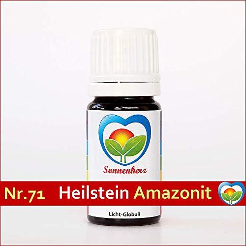 Amazonit-Globuli Nr. 71 energetische feinstoffliche Lichtglobuli & Heilsteinfrequenzen von Sonnenherz