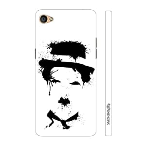 Enthopia Designer Hardshell Case Charlie Art Back Cover for Oppo F3 Plus