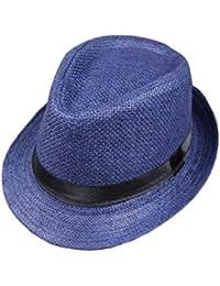 57ebc01855958 Sombrero De Panamá para Mujer Sombrero Jazz Sombrero Flexible De Playa Especial  Estilo De Verano Sombrero