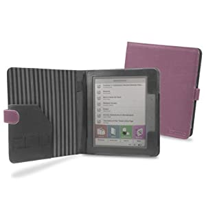 Cover-Up PocketBook Color Lux eReader Cover Case (Book Style) - Purple