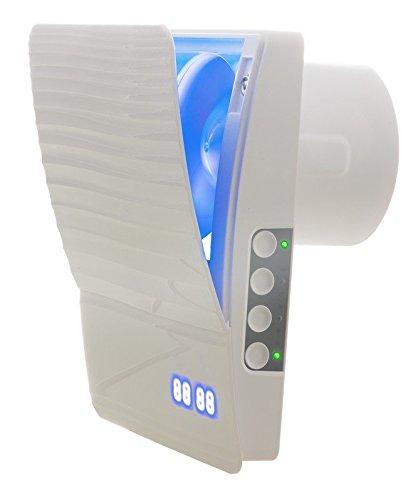 Ventilador Extractor Automatic Shutter WiFi–con WiFi de control, libre ajustable LED y...