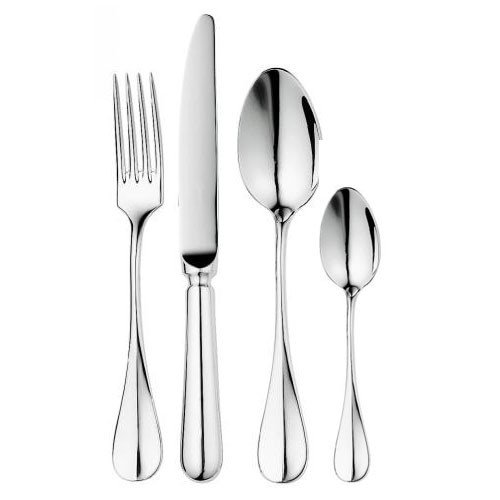 18/10 stainless steel table fork 3,5mm mirror finnishing - set of 6