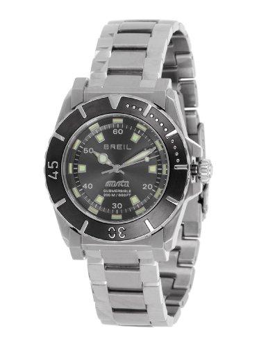 Breil TW0734 - Reloj analógico de cuarzo para mujer con correa de acero inoxidable, color plateado