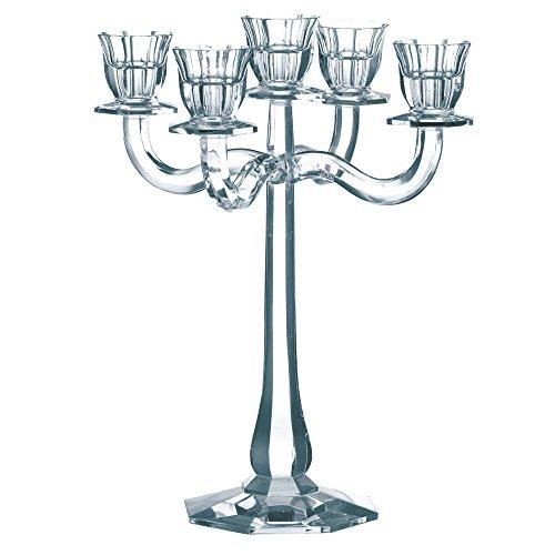 Arm-leuchter (Spiegelau & Nachtmann, Leuchter 5-armig, Kristallglas, Höhe: 30 cm, Ravello, 0067019-0)