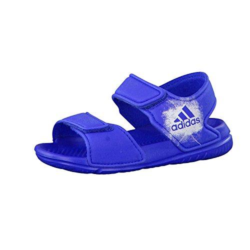 adidas Altaswim, Sandali Neonati Maschi, Blu (Blue/Ftwr White/Ftwr White), 24 EU