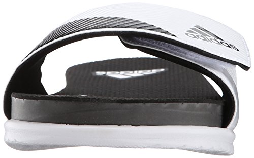 Adidas Performance Supercloud Plus-M Slide Sandale, Kern schwarz / silber / metallic / Kern Schwarz, White/Core Black/Clear/Grey