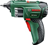 Bosch Home and Garden 0603977005 Akkuschrauber PSR Select (1,5 Ah, 3,6 Volt System, mit Micro USB, im Handwerkskoffer), 3.6 V