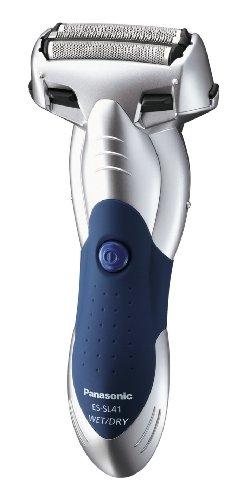 Panasonic ES-SL41-S503 Nass/Trocken Rasierer, silber/blau