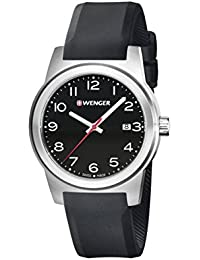 WENGER Herren-Armbanduhr SPORT DYNAMIC FIELD COLOR Analog Quarz Silikon 01.0441.144